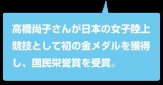 高橋尚子金メダル